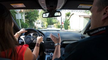 Driving lessons in Eglinton